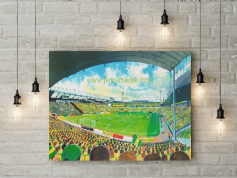carrow road  canvas a2 size